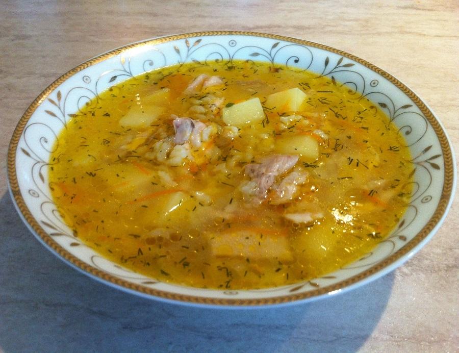 Рисовый суп. Мамулины рецепты