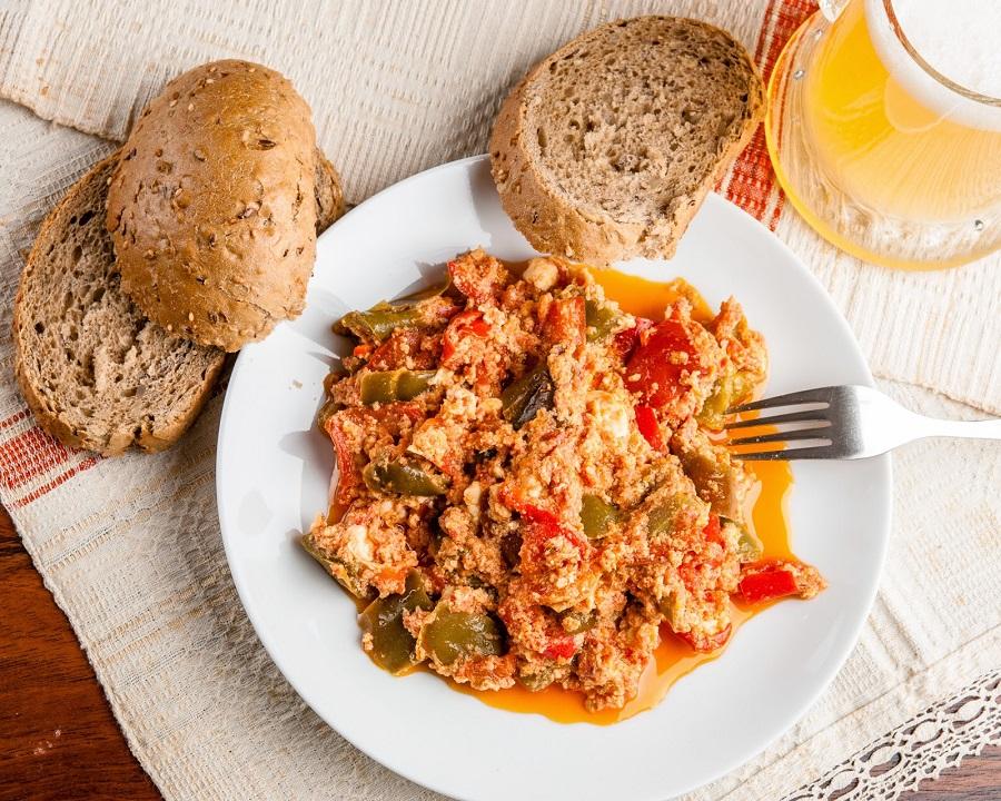 """Простое и вкусное блюдо из болгарского перца """"Миш-Маш"""""""