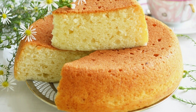 Бисквит без яиц на кефире рецепт с пошагово