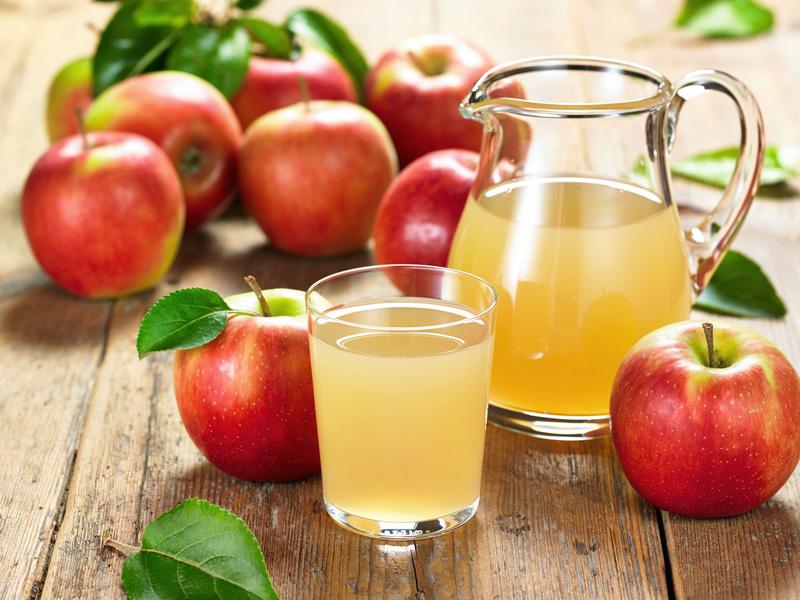 Изумительный кисель из свежих яблок
