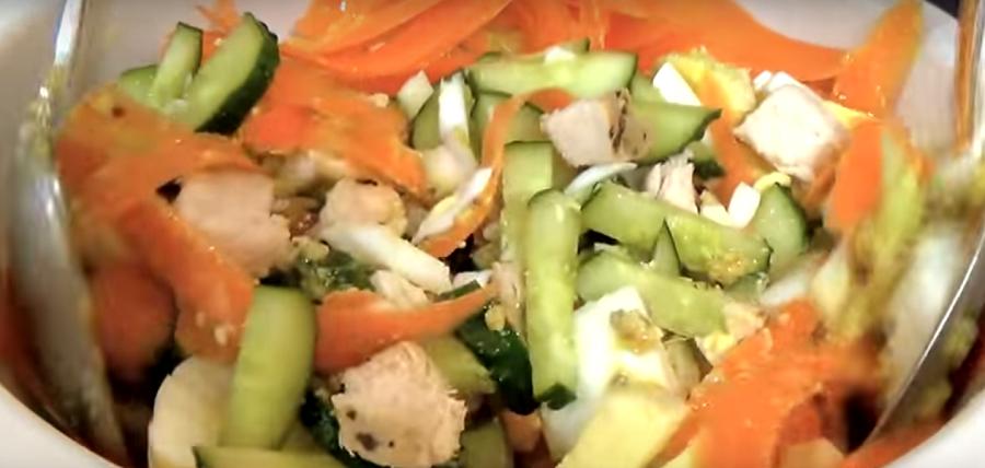Восхитительный салат «Пражский» без майонеза