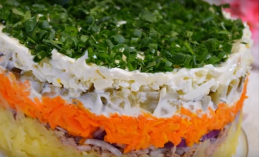 Вкусный и нежный салат «Океан» с тунцом