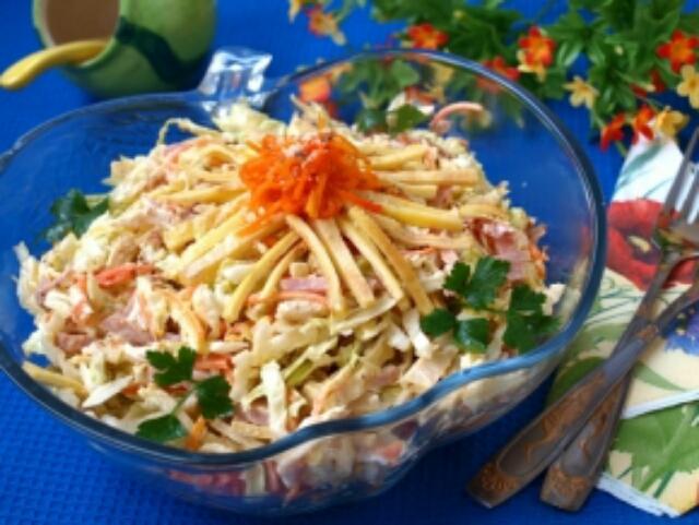"Потрясающий салат ""Анастасия"" к любому столу"