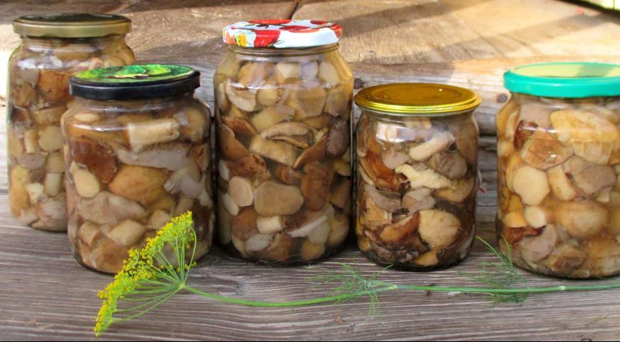 Универсальный маринад для всех грибов (на зиму)