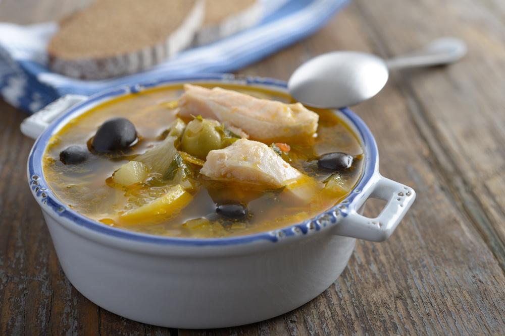 Фитнес блюдо-вкуснейшая рыбная солянка