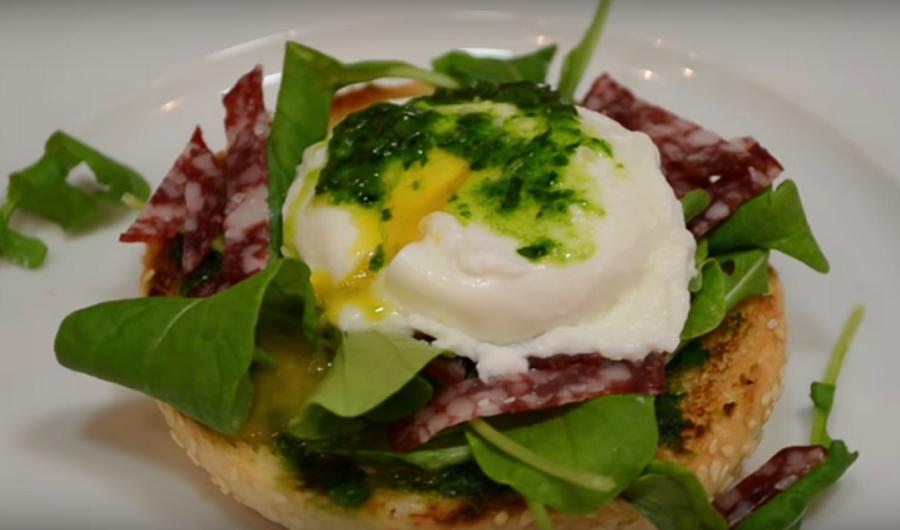 Изумительные бутерброды с булочкой к завтраку