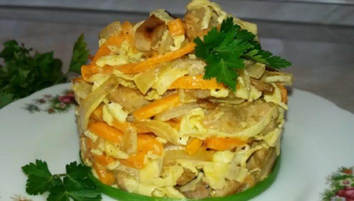 Салат с курицей «Мао Цзэдун»: отличный рецепт к любому празднику