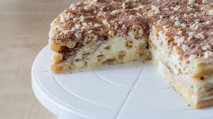 Самый вкусный и легкий в приготовлении торт «Эклер»