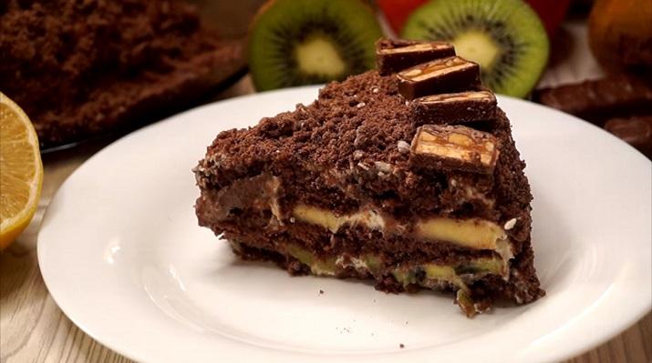 Торт «Лентяй» без выпечки: вы просто не поверите, какой он вкусный