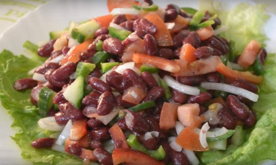 """Восхитительный испанский салат """"Empedrado de judías"""""""