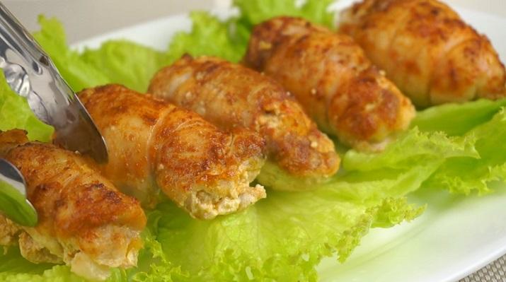 Рулетики из курицы рецепты простые и вкусные