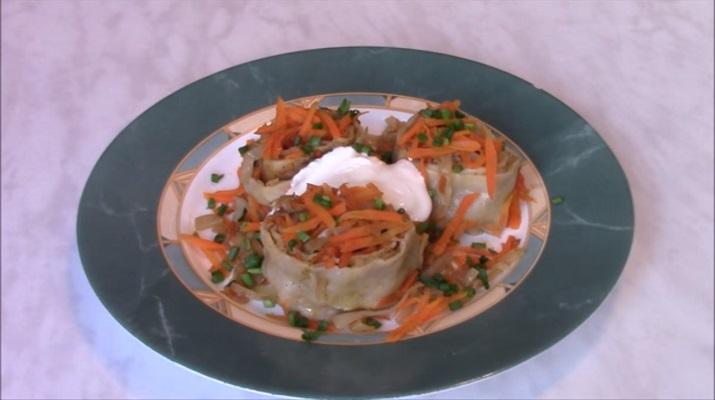 Штрудли с капустой: простое и очень вкусное блюдо