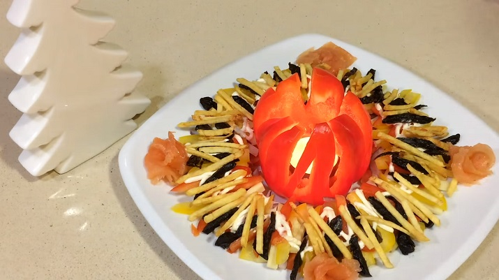 Сказочный новогодний салат: в восторге будут все