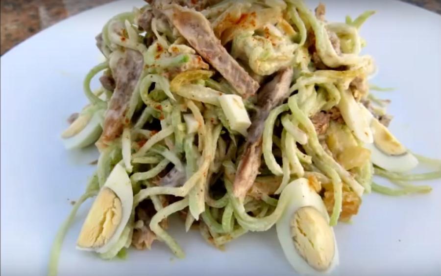 Салат обалденный рецепт