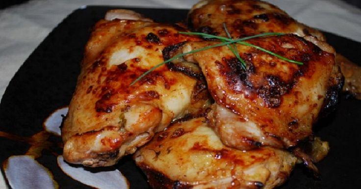 Огненный маринад для курицы-понравится всем любителям остренького