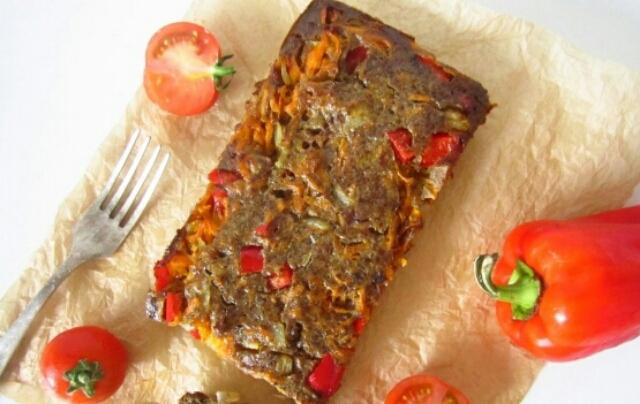Вкуснейшее суфле из куриной печени с овощами