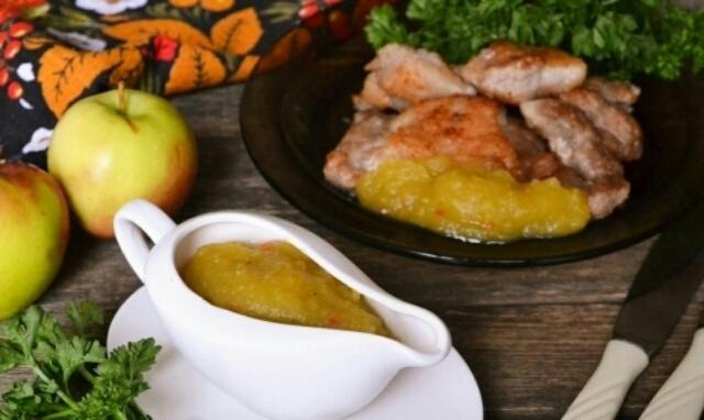 Восхитительный соус из яблок на зиму