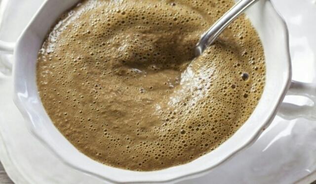Безумно вкусный суп-пюре из куриной печени