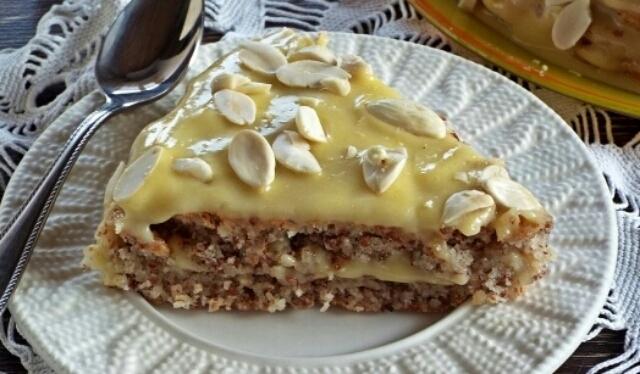Картинки по запросу Безумно вкусный и легкий в приготовлении миндальный торт