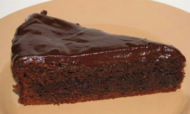 Божественный бисквитный торт с джемом