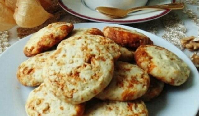 Вкуснейшее ореховое печенье