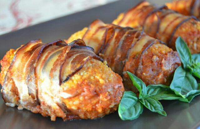 Мега вкусные тефтели в беконе, запечённые в духовке