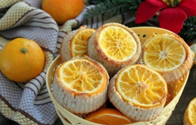 Восхитительные мандариновые муале, которые просто тают во рту