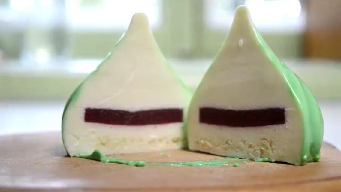 Божественное муссовое пирожное