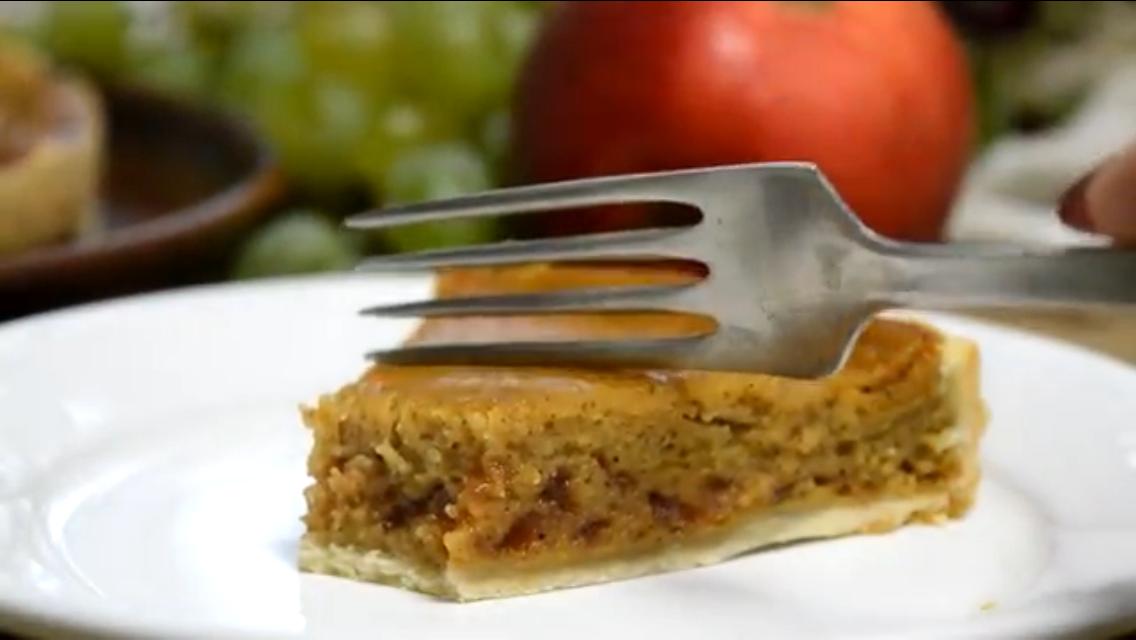 Безумно вкусный тыквенный пирог, в который влюбляешься с первого кусочка