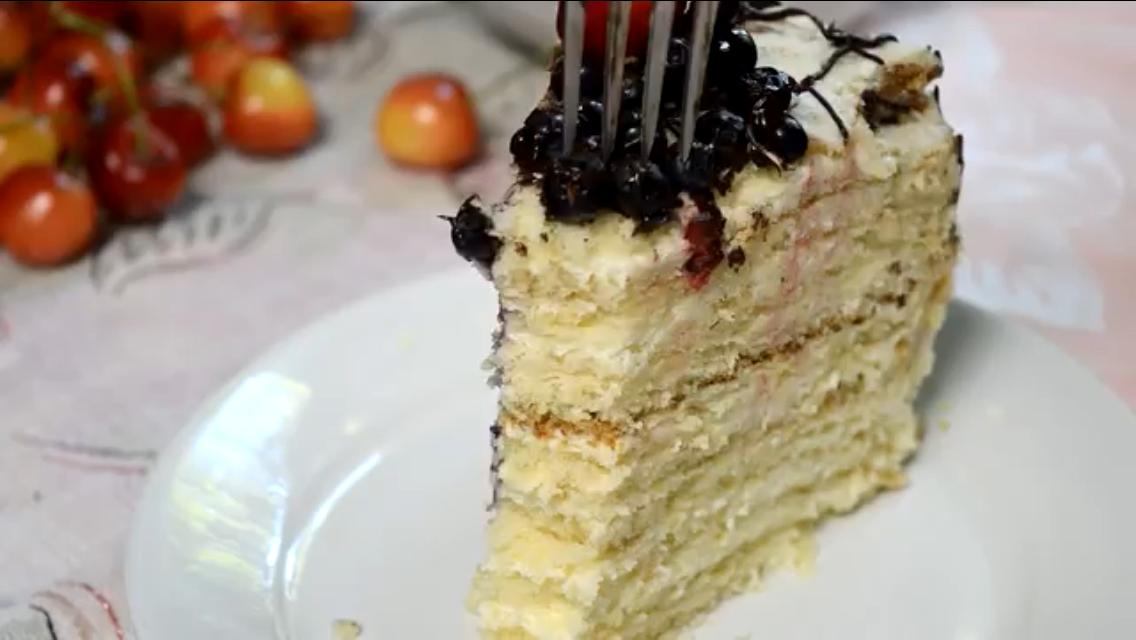 """Невероятно нежный торт """"Молочная девочка"""""""