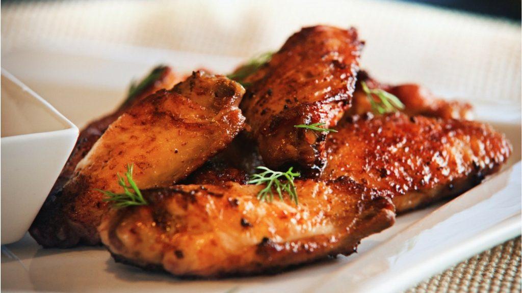 Жареная острая курица