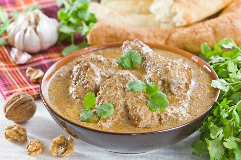 Сациви-вкусное грузинское блюдо