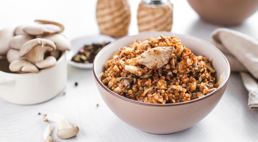 Гречка с грибами по-восточному – вкусное и оригинальное блюдо