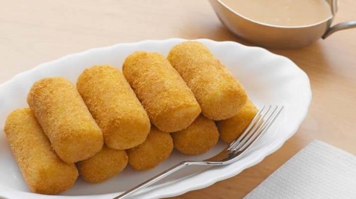Восхитительные картофельные палочки с грибной начинкой