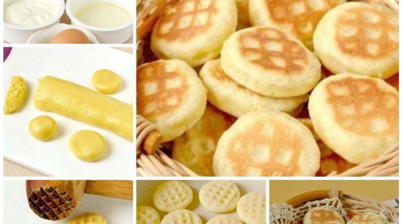 Быстрое домашнее печенье на сковороде