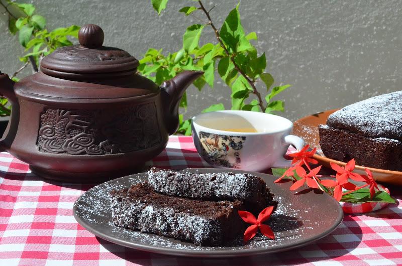 Изумительный шоколадный кекс
