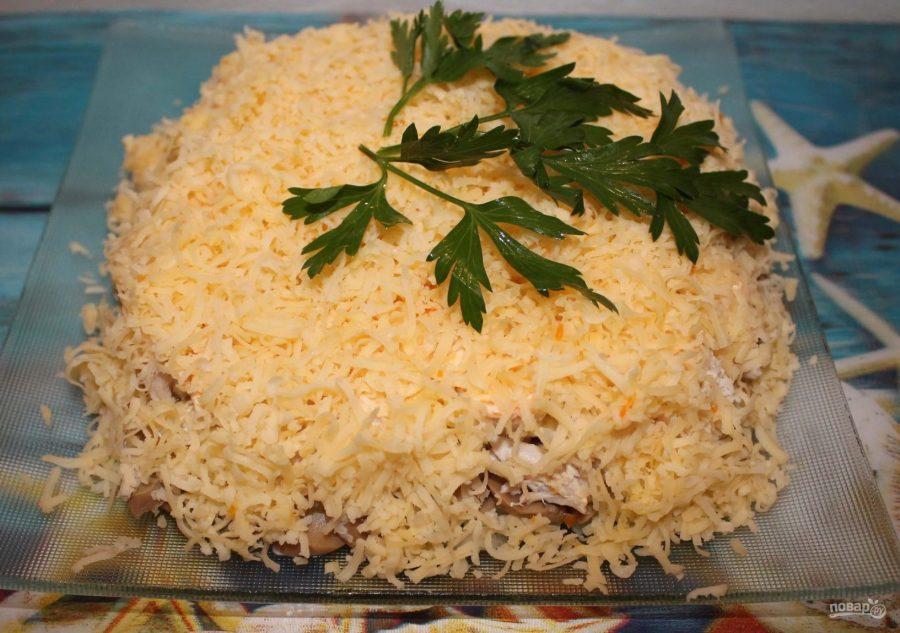 """Вкусный и простой салат """"Тамара"""""""