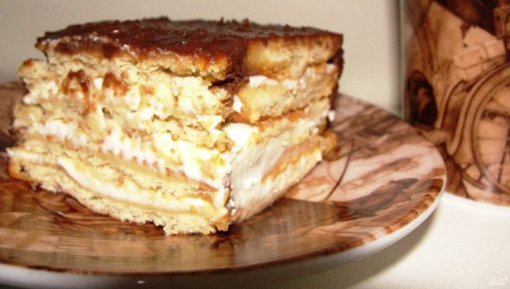 Торт без выпечки «Итальянские мотивы»: очень вкусный