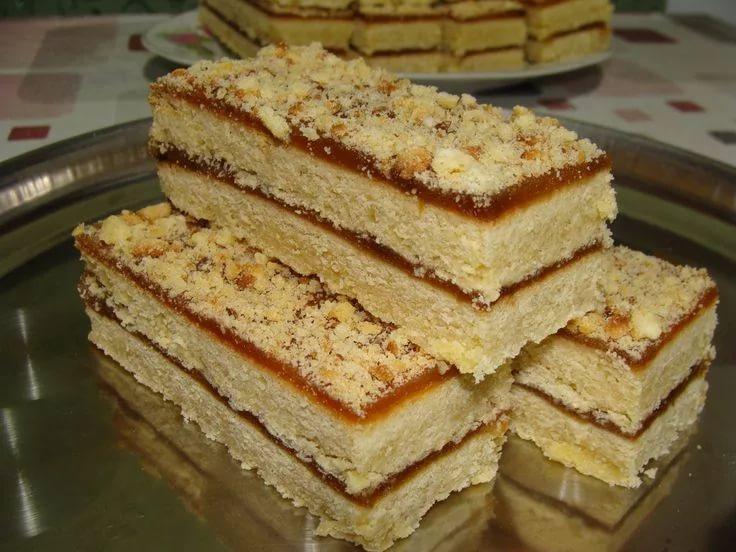 Песочное пирожное как в детстве. Простой и доступный десерт