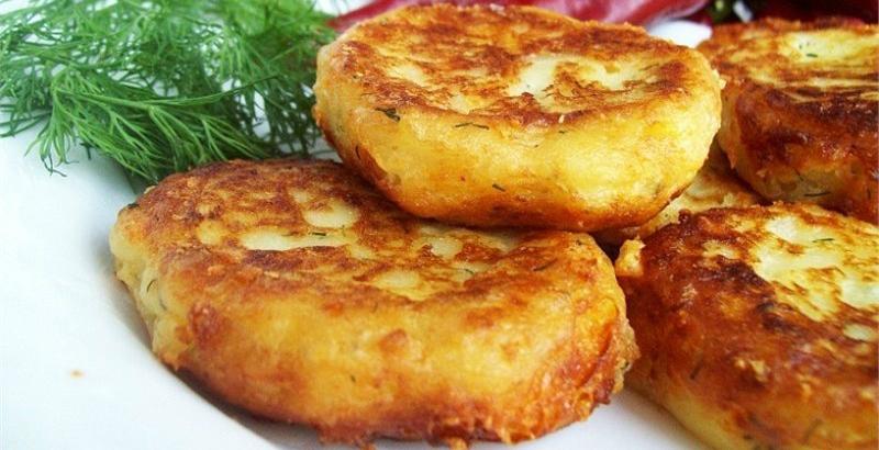 оладьи картофельные рецепт