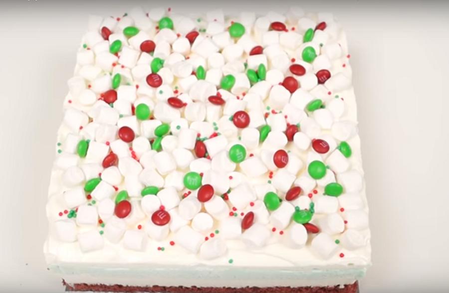 Сладкая новогодняя лазанья-изумительный десерт к празднику