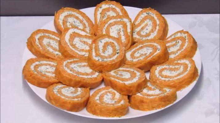 Легкая  и вкусная закуска «Оранжевое настроение»