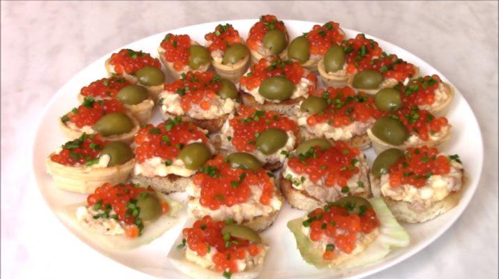 праздничные салаты без майонеза на закуску рецепты