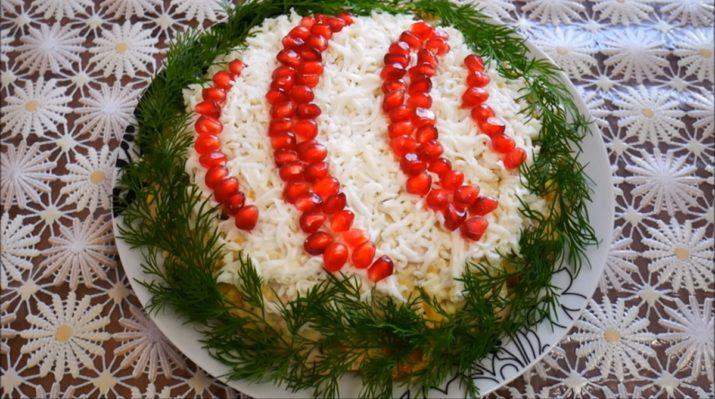 Праздничный салат «Новогодний шар»: минимум продуктов, море красоты и вкуса