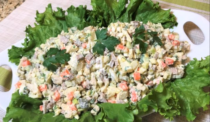 Салат «Столичный»: и что может быть вкуснее
