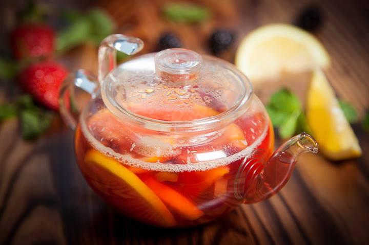 Ароматный апельсиновый чай со специями