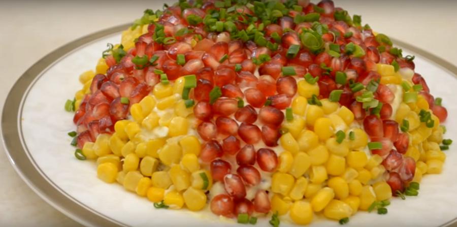 Потрясающе вкусный салат на новогодний стол 2018