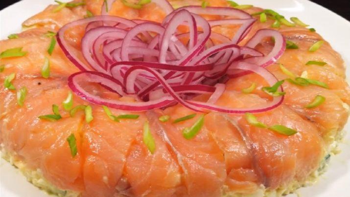Бесподобно вкусный праздничный салат «Восторг»