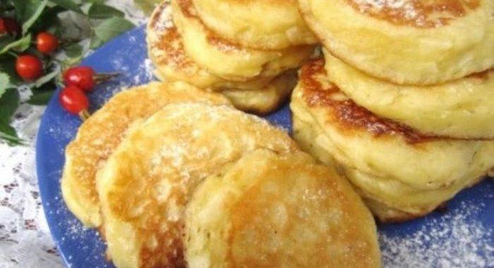 Восхитительные манные оладьи-рецепт к завтраку