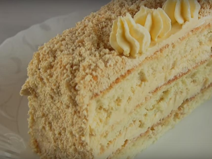 Торт славянка с халвой рецепт по госту
